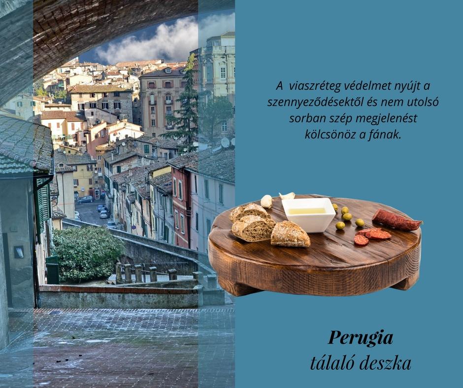 'Perugia' tálaló deszka