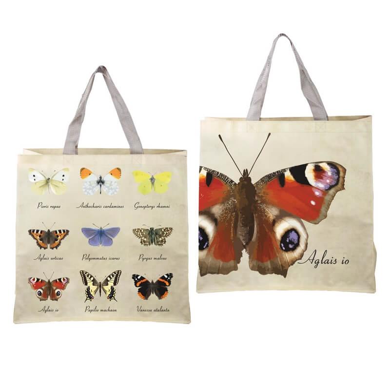 Pillangós bevásárló táska