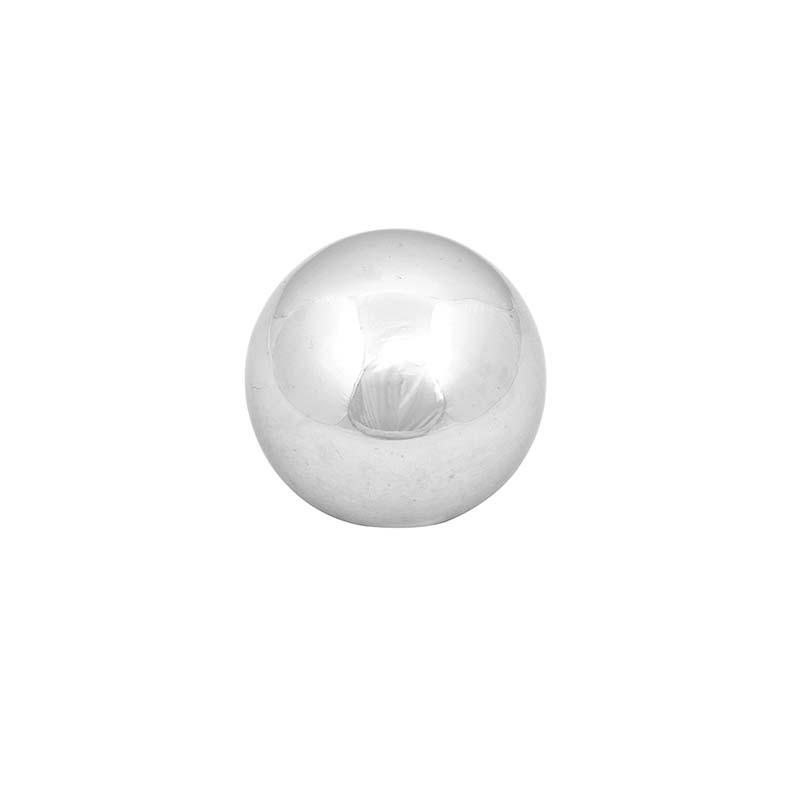Rozsdamentes acél dekor gömb, S