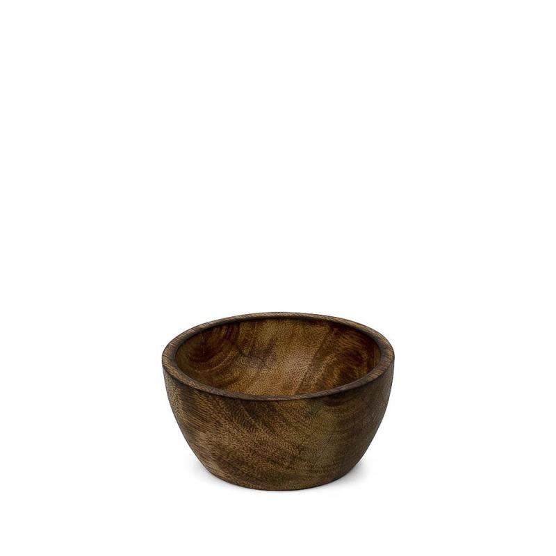 Mély tálka mangófából, 10 cm