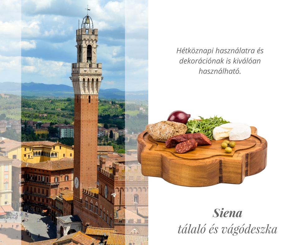 'Siena' tálaló és vágódeszka