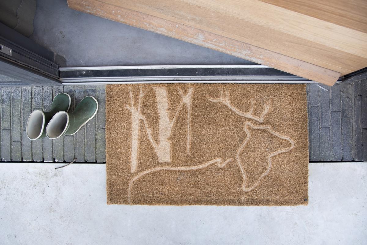 Szarvasos kókuszrost lábtörlő 75 x 45 cm