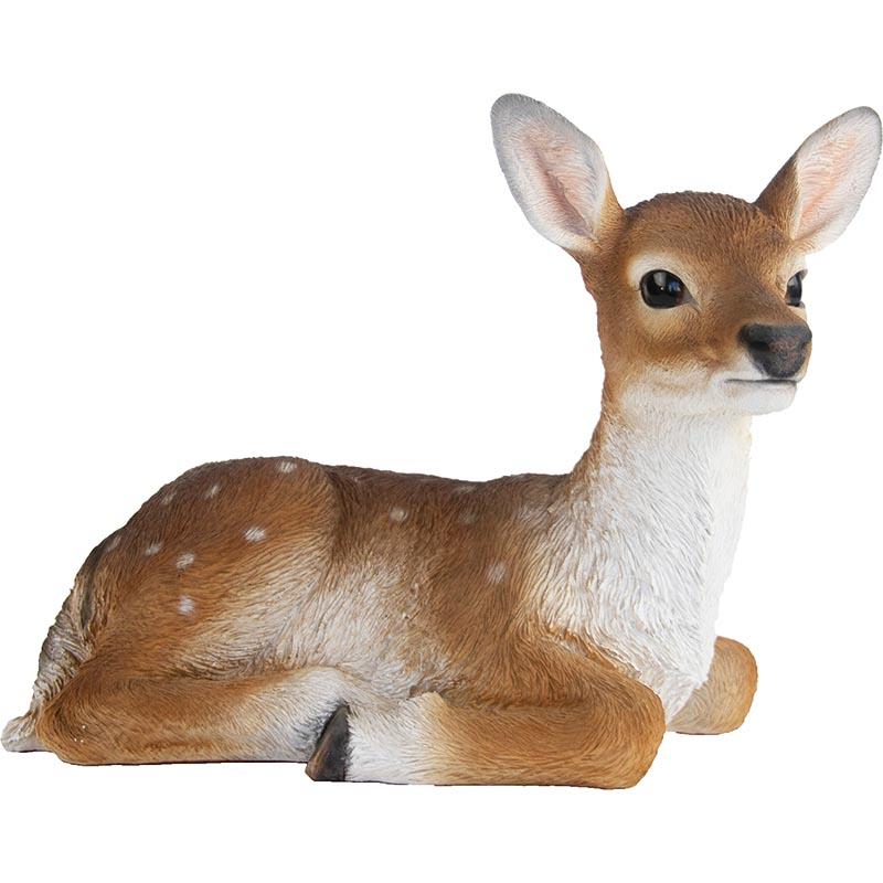 Fekvő szika szarvas, Bambi szobor