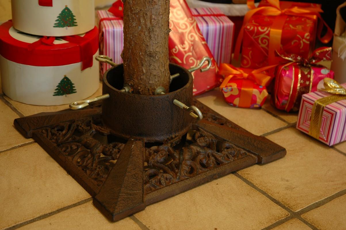 Szögletes karácsonyfa talp