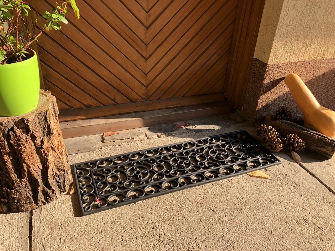 Szőnyeg lépcsőre, gumi 75 x 25 cm
