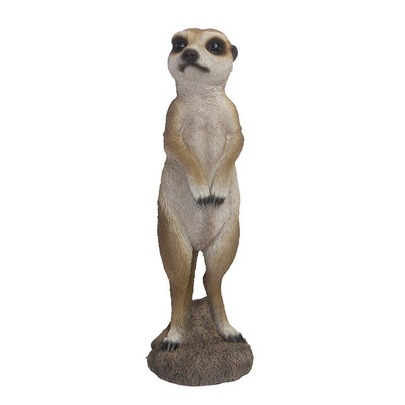 Szurikáta szobor,  jobbra néző