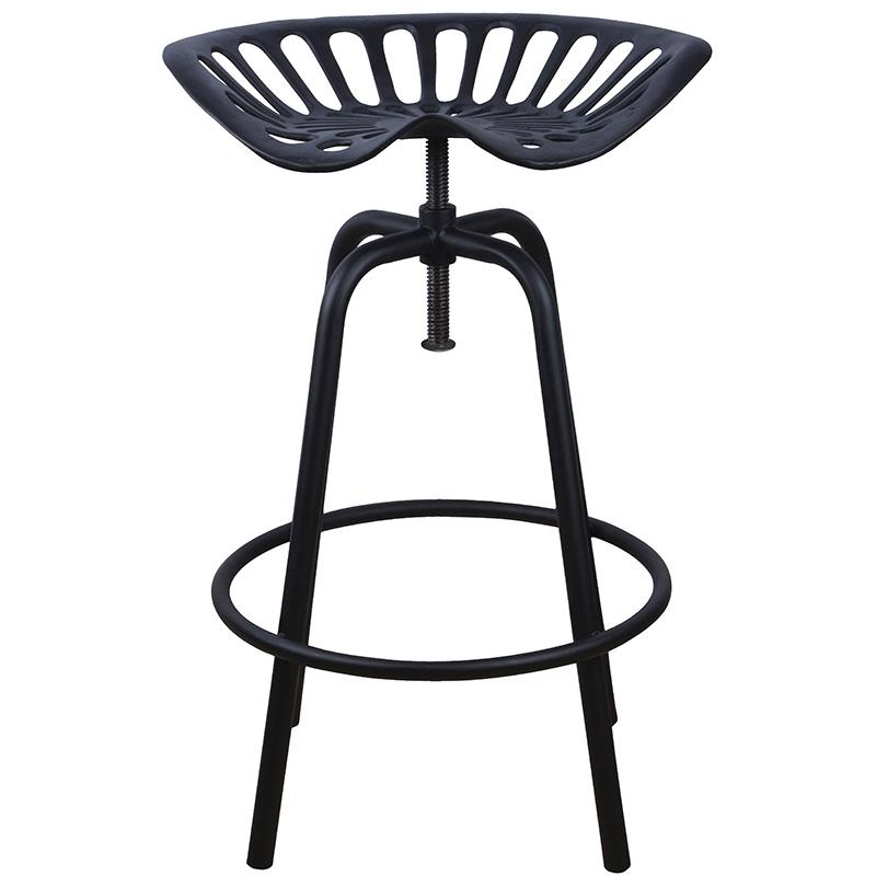 Traktor szék, fekete