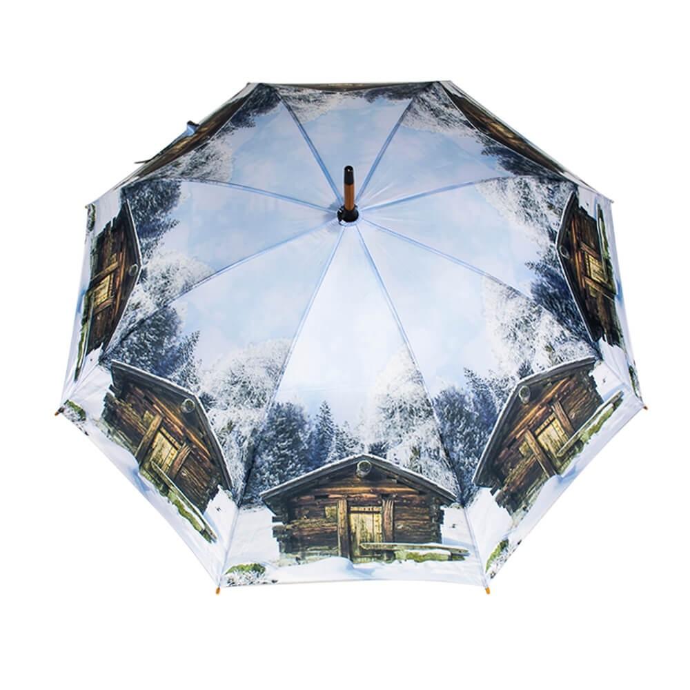 Téli, faházas esernyő