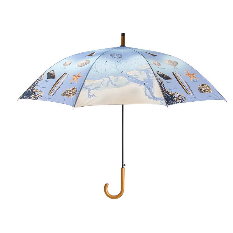 Tengerpart mintás esernyő