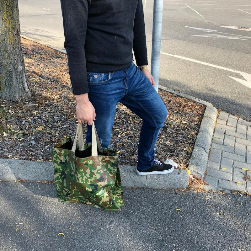 Terepmintás táska