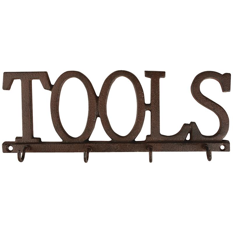 Tools feliratú akasztó