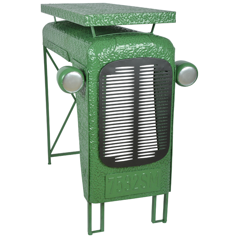Traktor asztal, Zöld
