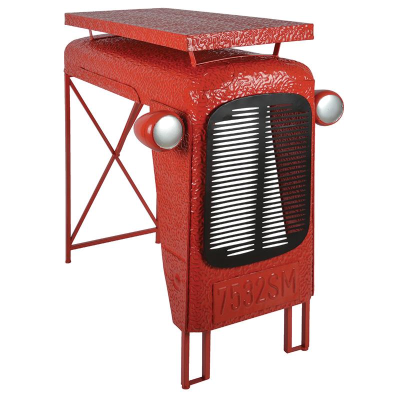 Traktor asztal, Piros