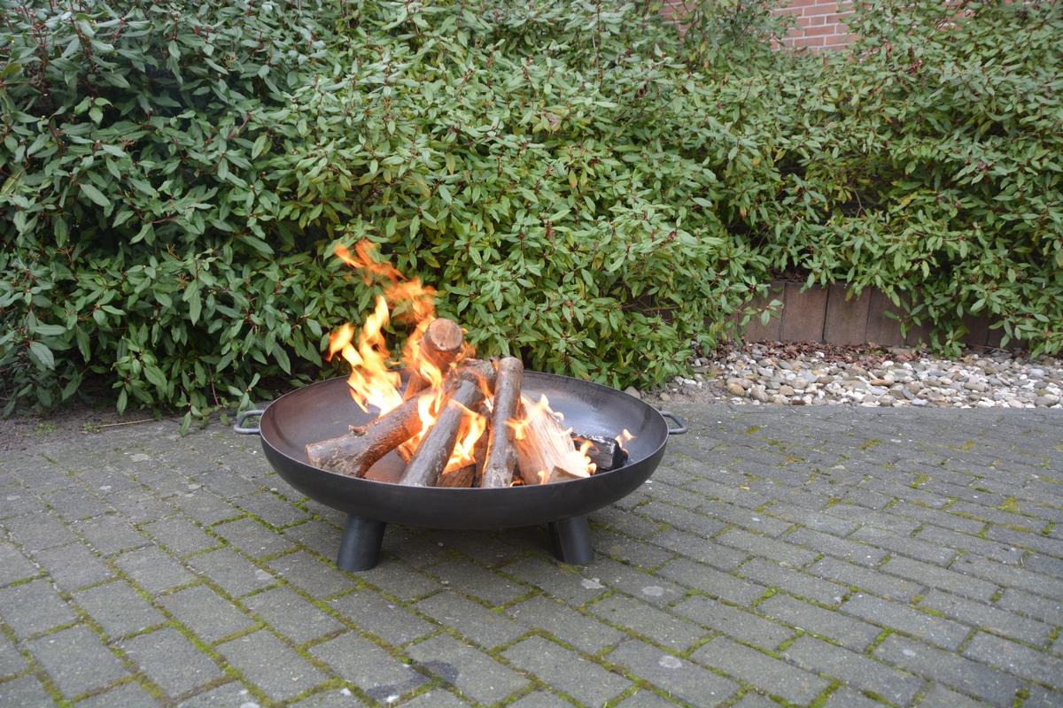 Tűzrakó tál - L