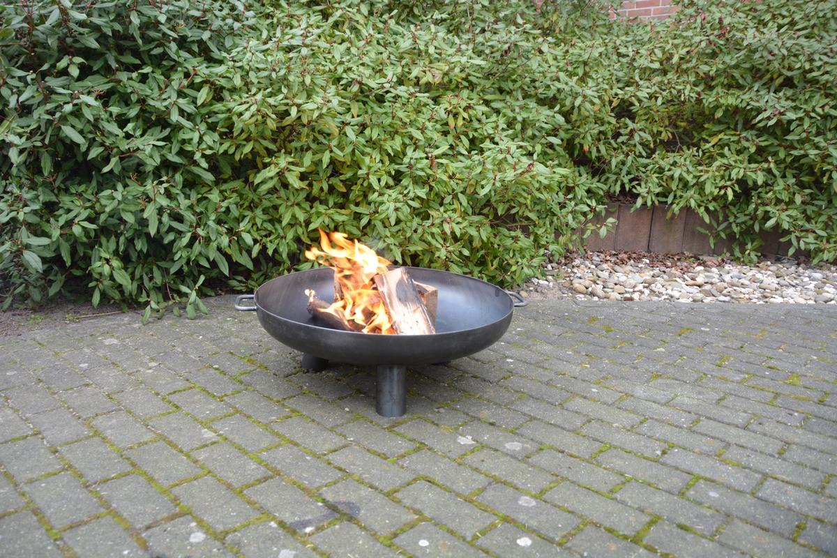 Tűzrakó tál - M
