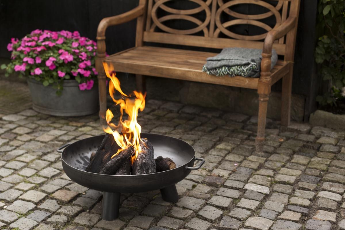 Tűzrakó tál - S