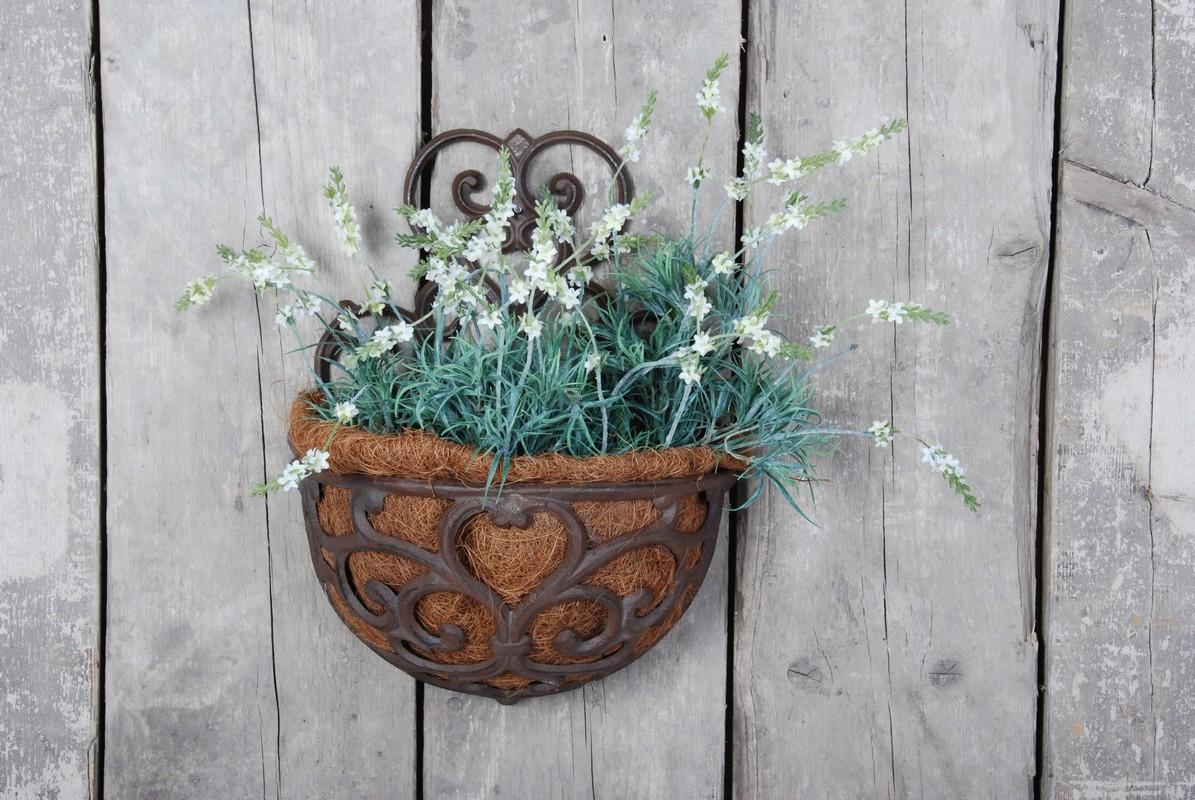 Virágtartó, fali