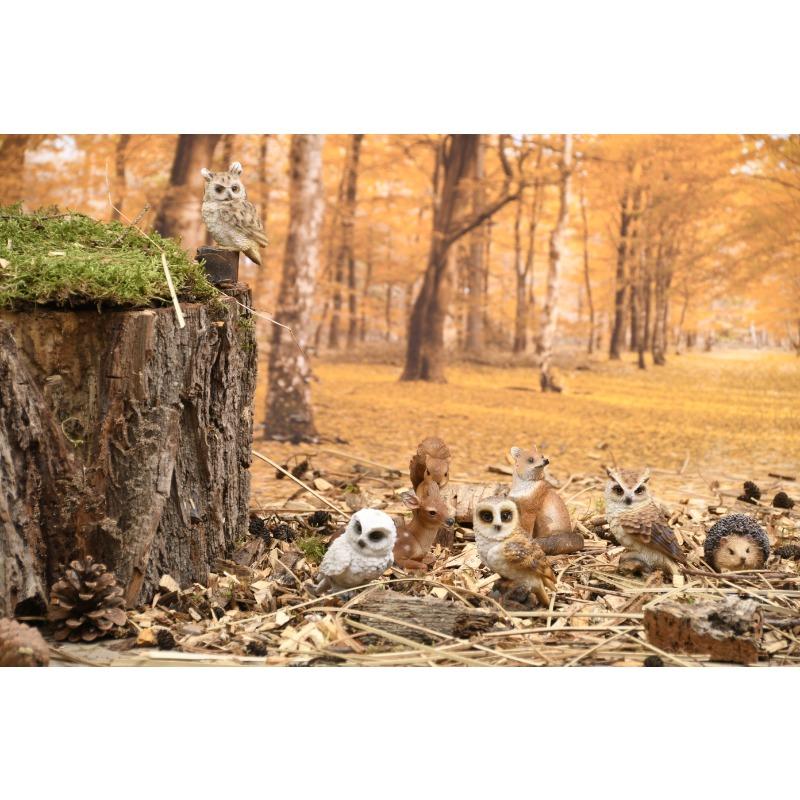 Leszúrható erdei állatok szobor, négyféle