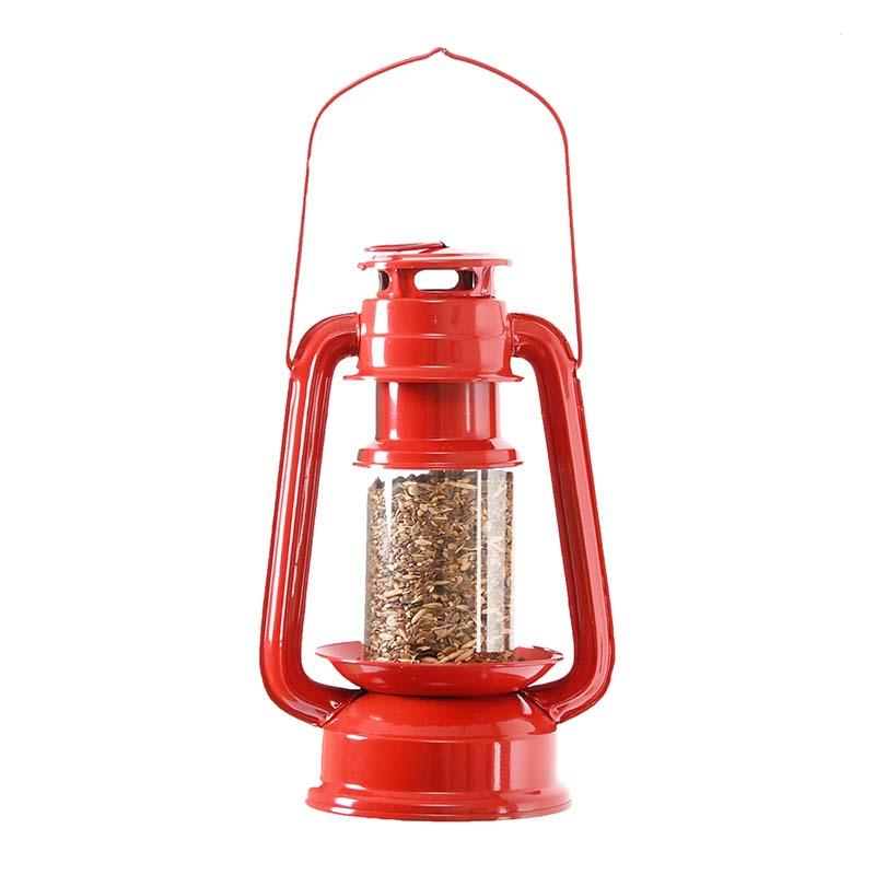 Viharlámpa alakú madáretető