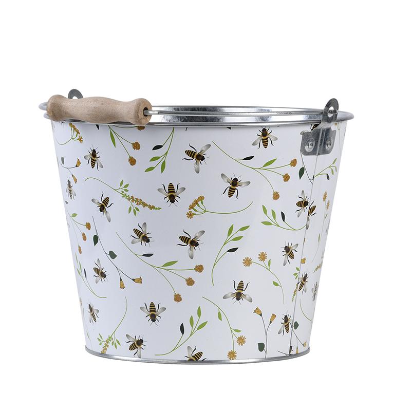 Vödör méhecske mintával, 5 literes