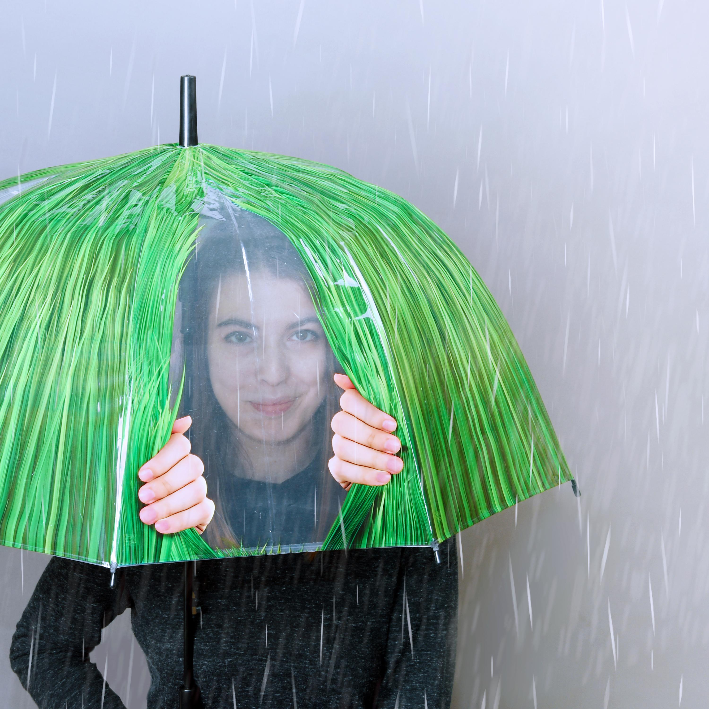 Fűszálas kukucskálós esernyő