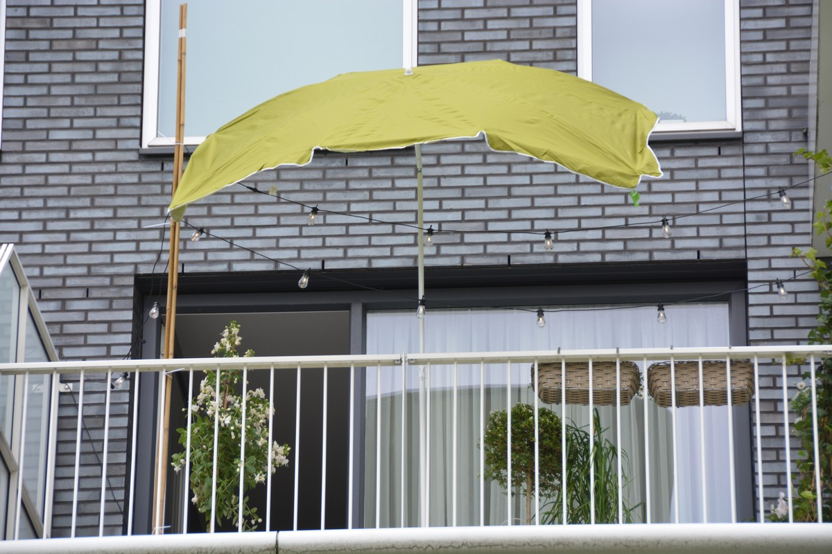 Zöld napernyő