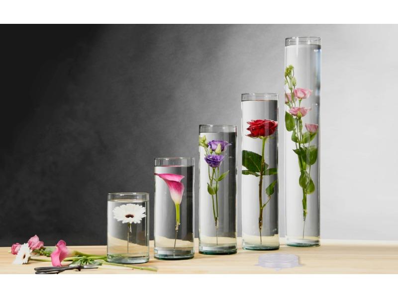 A legújabb trend - Váza merülő virágoknak